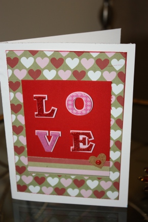 made with love- valentine's day cards!