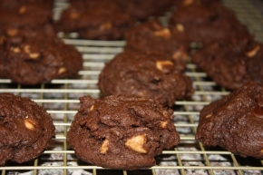 chocolate chocolate chip peanut butter chipcookies