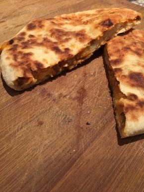 pizza parantha